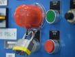 1: Sicherheitsabdeckung für Drucktasten (mittel)