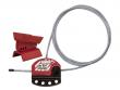 8: Verriegelungsgerät für Drosselventile   Kabelverriegelungssystem
