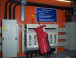 1: NH-Sicherung mit einem Kabelverriegelungssystem
