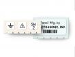 3: Polyester Etiketten für pulverbeschichtete Oberflächen (B-483)