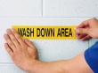 1: Polyester-Etiketten für raue Umgebungen (B-966)