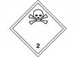 9: Gefahrgutschild Klasse 2.3 - Giftige Gase