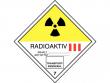17: Gefahrgutschild Klasse 7C - Radioaktive Stoffe