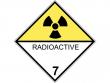 18: Gefahrgutschild Klasse 7D - Radioaktive Stoffe