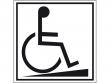 7: Hinweisschild - Zugang für Rollstuhlfahrer