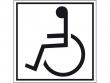 8: Hinweisschild - Zugang für Rollstuhlfahrer