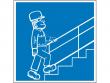 23: Hinweisschild - Treppe mit Geländer