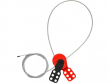 3: Safelex - universelle Kabelverriegelung mit Stahlkabel
