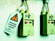 2: Sicherheitsanhänger(Achtung! In Betrieb lassen!) - Anwendung