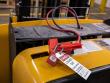 3: Sicherung eines Gabelstapler-Ladekabels