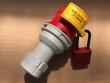 1: Steck-Schutz für CEE-Stecker