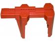6: Kugelhahn-Absperrung (rot)