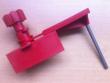 3: Universal-Ventilabsperrung mit Schlitten und Blockierarm
