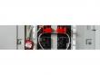 1: Kompaktes Sicherheitsschloss mit Kabelbügel (Anwendungsbeispiel)