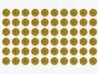 3: Prüfplaketten - signalgelb (Jahreszahl 16,17,18,19)