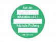6: Unitag Einsteckschild - Nächste Prüfung, grün (806793)
