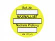 7: Unitag Einsteckschild - Nächste Prüfung, gelb (806801)