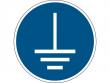 5: Gebotsschild - Vor Benutzung erden (gemäß DIN EN ISO 7010, ASR A1.3)