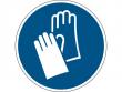 9: Gebotsschild - Handschuhe benutzen (gemäß DIN EN ISO 7010, ASR A1.3)