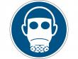 17: Gebotsschild - Atemschutz benutzen (gemäß DIN EN ISO 7010, ASR A1.3)