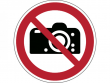 27: Verbotsschild - Fotografieren verboten (gemäß DIN EN ISO 7010)
