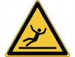 11: Warnschild - Warnung vor Rutschgefahr (gemäß DIN EN ISO 7010, ASR A1.3)