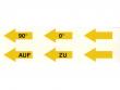 7: Linkspfeile (5Ausführungen)