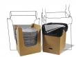 3: MRO Plus Tücher - Spende- und Entsorgungs-System